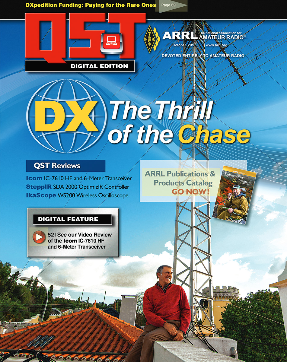 The Digital Version of the October QST Is Now Available |